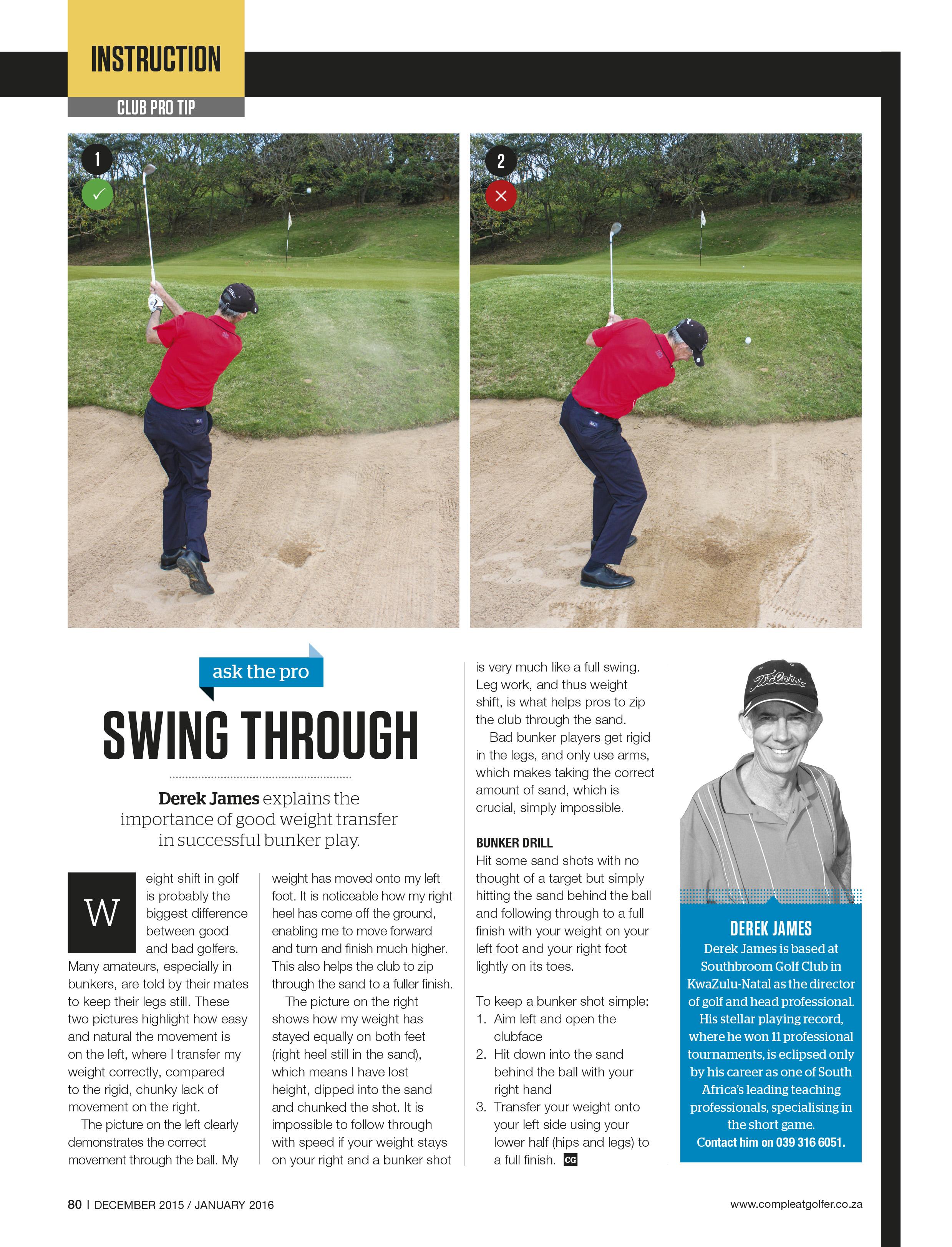 Golf Tuition | Southbroom Golf Club